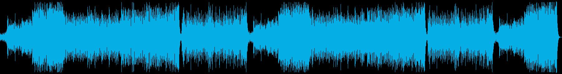 明るく華やかポップオーケストラ:フルx2の再生済みの波形