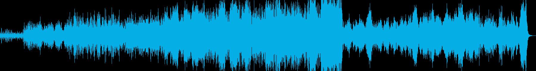 ワルツ 弦楽器と管楽器のみ 力強いの再生済みの波形