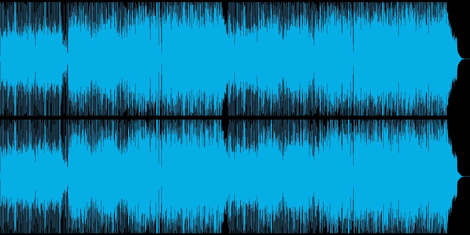 ★ほのぼのとしたバンド楽曲(鼻歌)の再生済みの波形