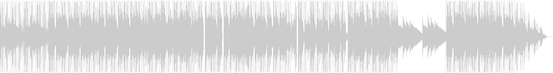 LoFiの未再生の波形