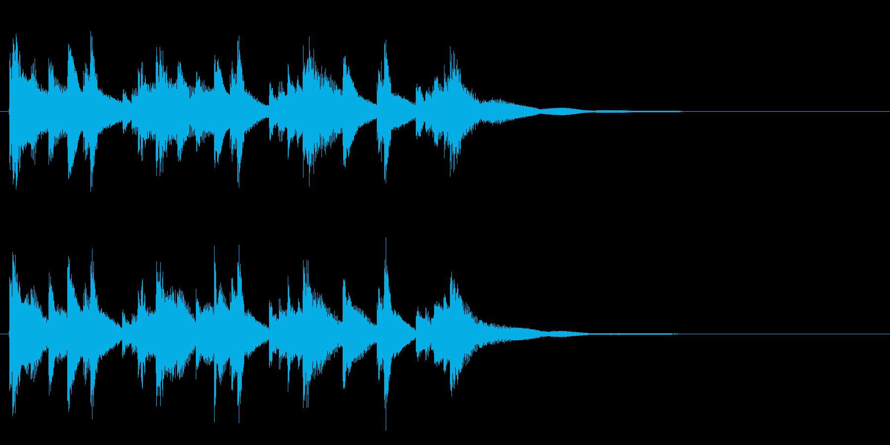 和風☆アイキャッチ2の再生済みの波形