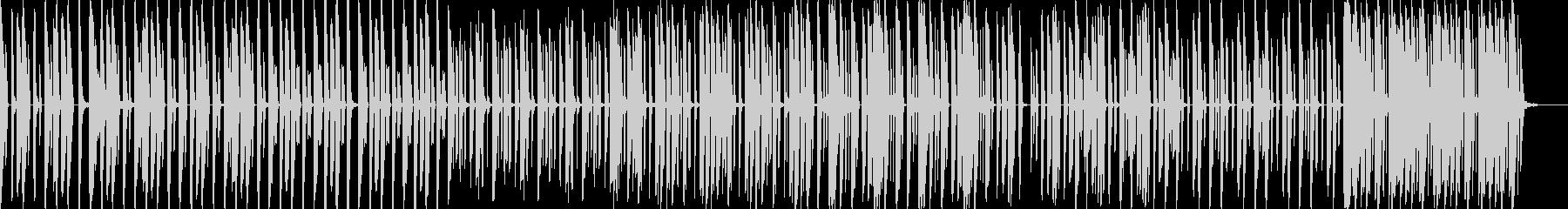 ローテンポ/重低音/EDM/BGMの未再生の波形