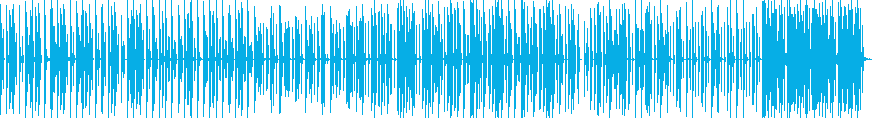 ローテンポ/重低音/EDM/BGMの再生済みの波形