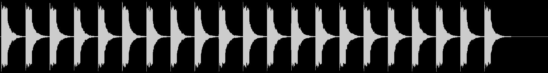 警報 8の未再生の波形