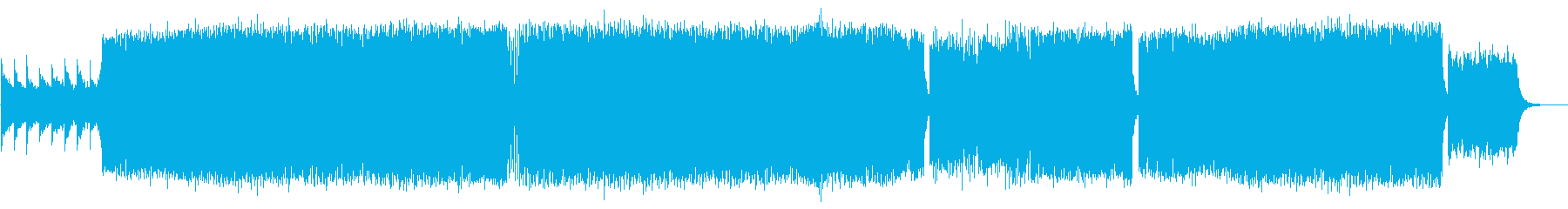 元気が出る楽しいEDMポップスの再生済みの波形