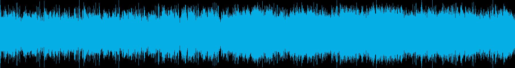 アイリッシュ調の陽気なLoop物インストの再生済みの波形
