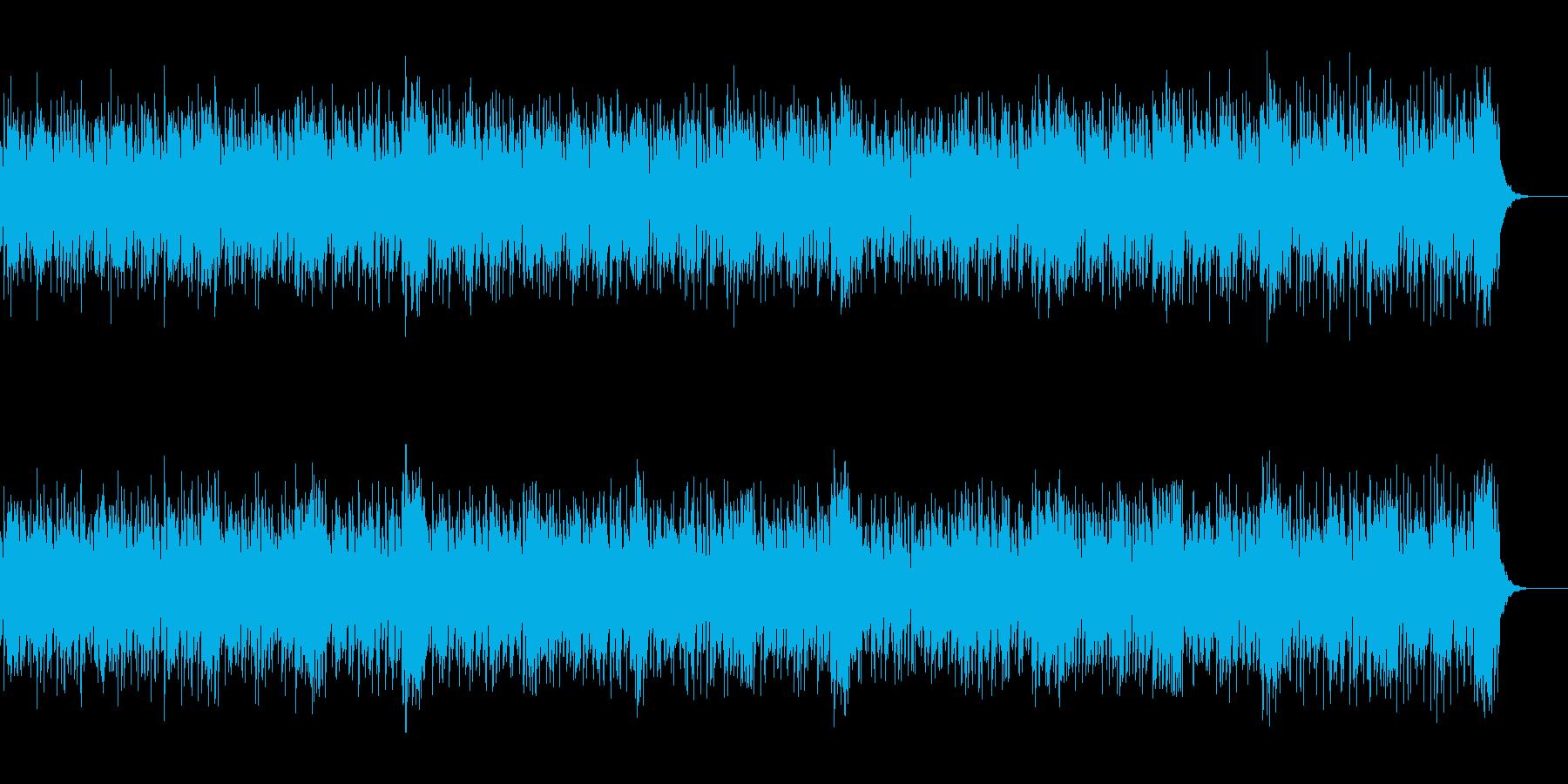 楽しいゲームに最適なかわいいポップな曲の再生済みの波形