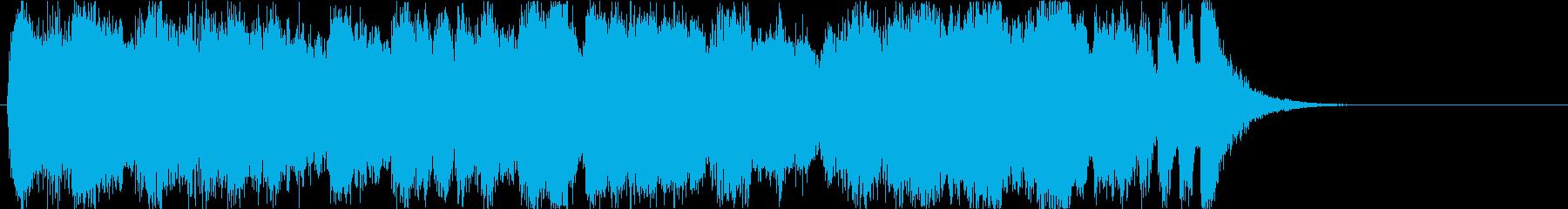 """""""星""""スペクタクルハリウッド15s-B3の再生済みの波形"""