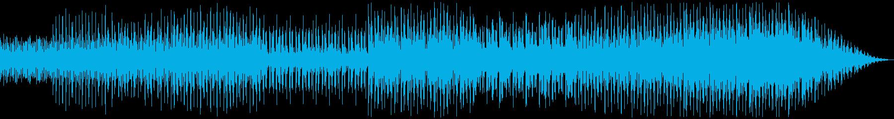 SF 宇宙人 調査 警備 テクノビートの再生済みの波形