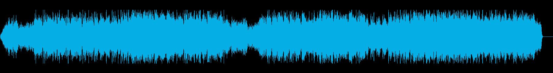 チェロがメロディーの重く物哀しい曲の再生済みの波形