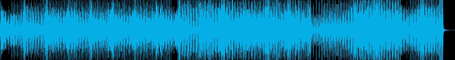 セクシーでアクの強いリズム・テクノ A2の再生済みの波形