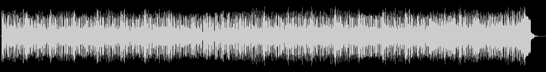 キラキラした音色のシンセミュージックの未再生の波形