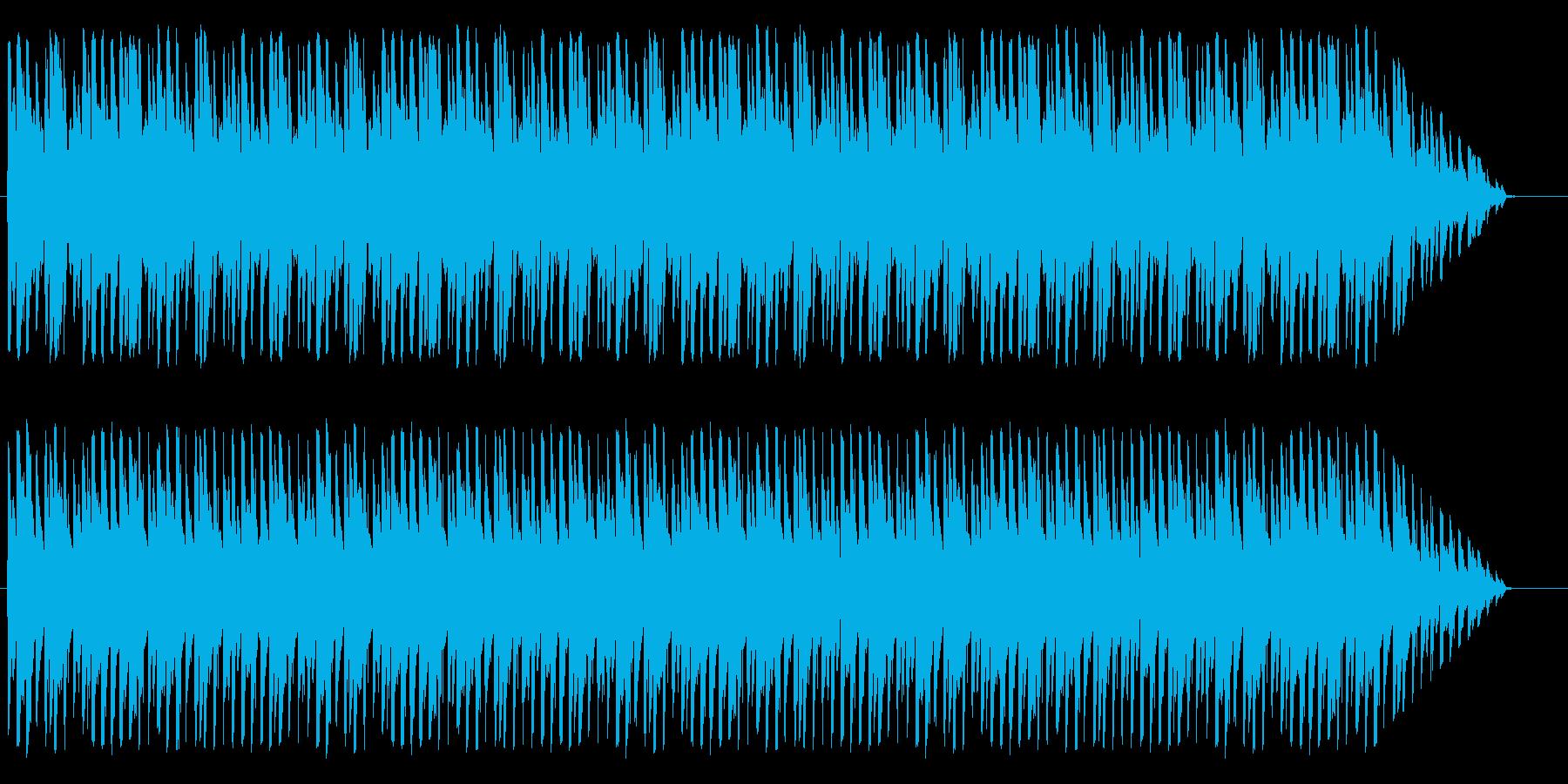 ほのぼのかわいいメロディの再生済みの波形