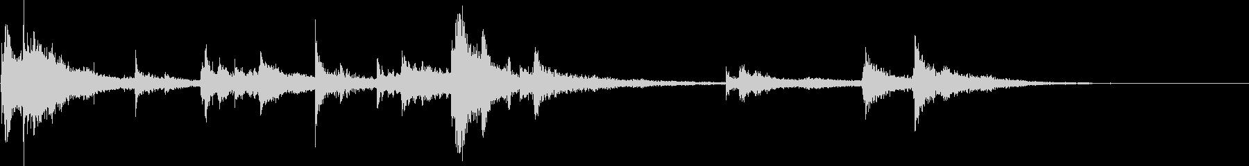 セラミックプレート:タンブルスマッ...の未再生の波形