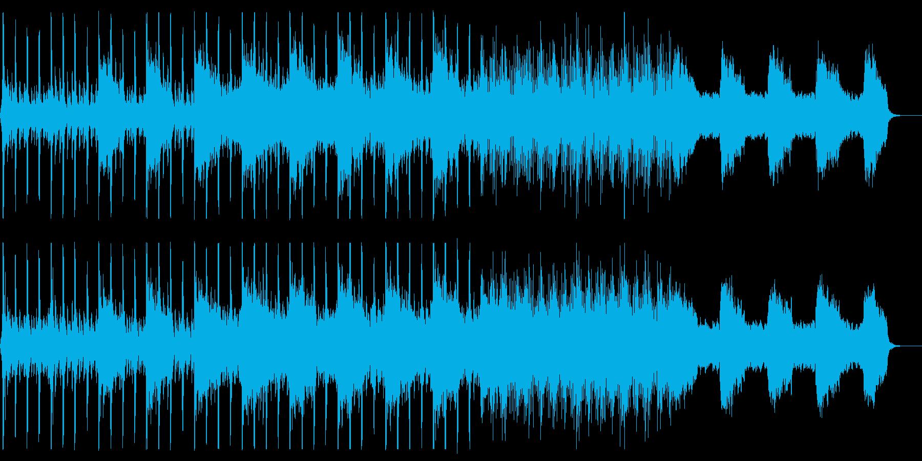Ruthless percussionの再生済みの波形