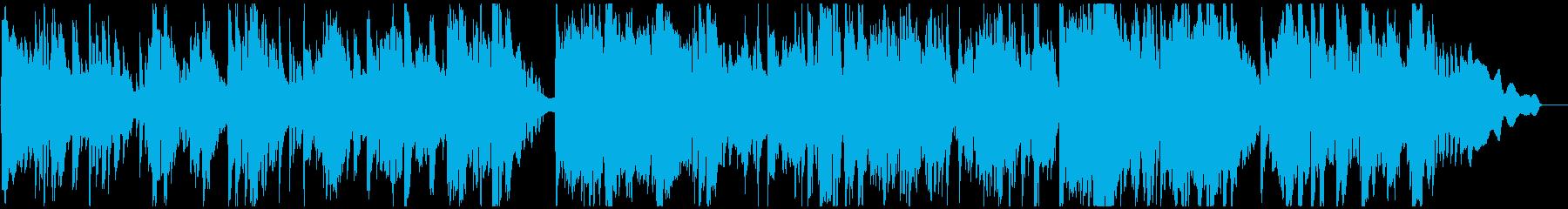 ソプラノサックスの大人なジャズバラードの再生済みの波形