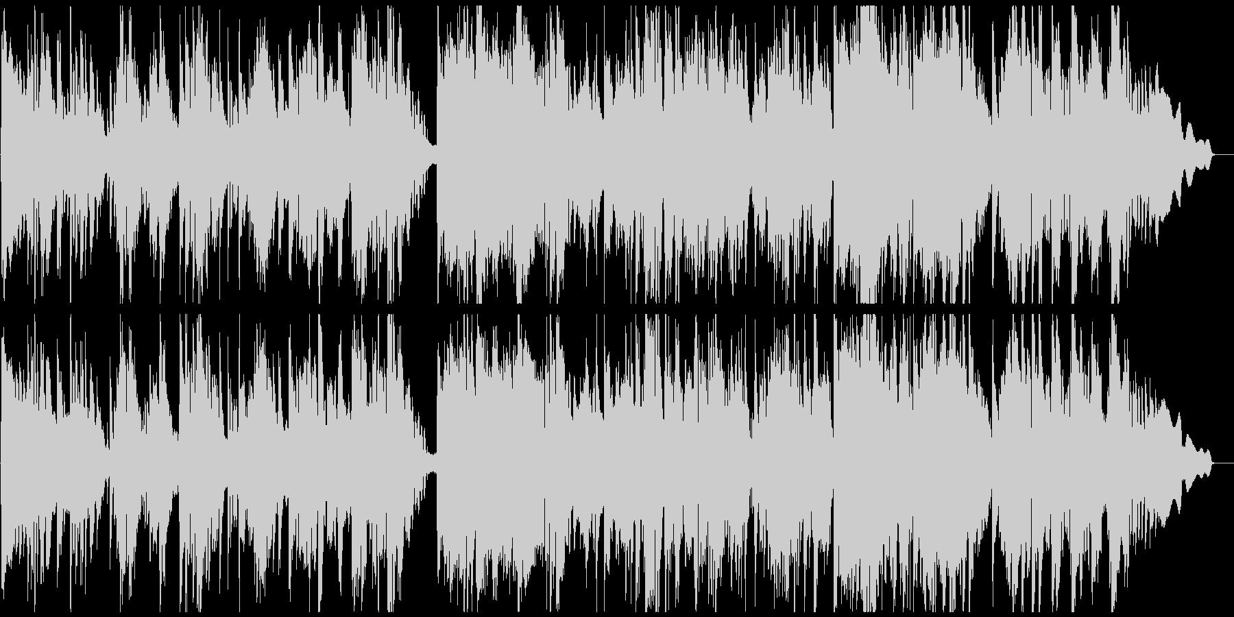 ソプラノサックスの大人なジャズバラードの未再生の波形