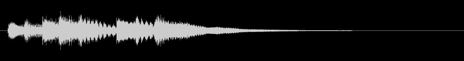 シタール遷移の未再生の波形
