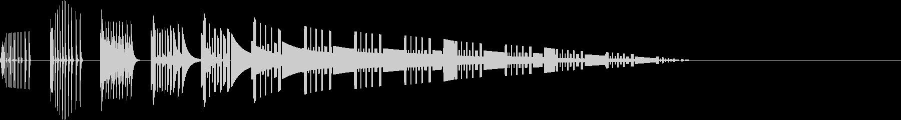 ドコドコ(攻撃/転倒/階段/ファミコンの未再生の波形