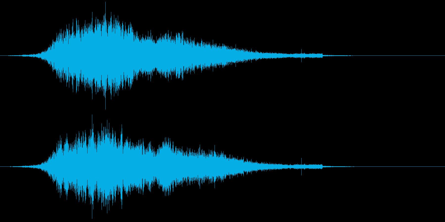 【ダーク】ホラー演出SE_04 出現の再生済みの波形