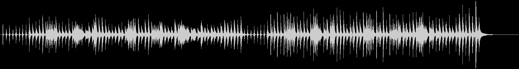 ピカピカ時計の未再生の波形