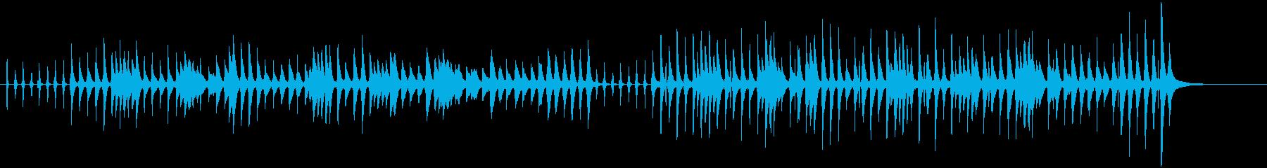 ピカピカ時計の再生済みの波形
