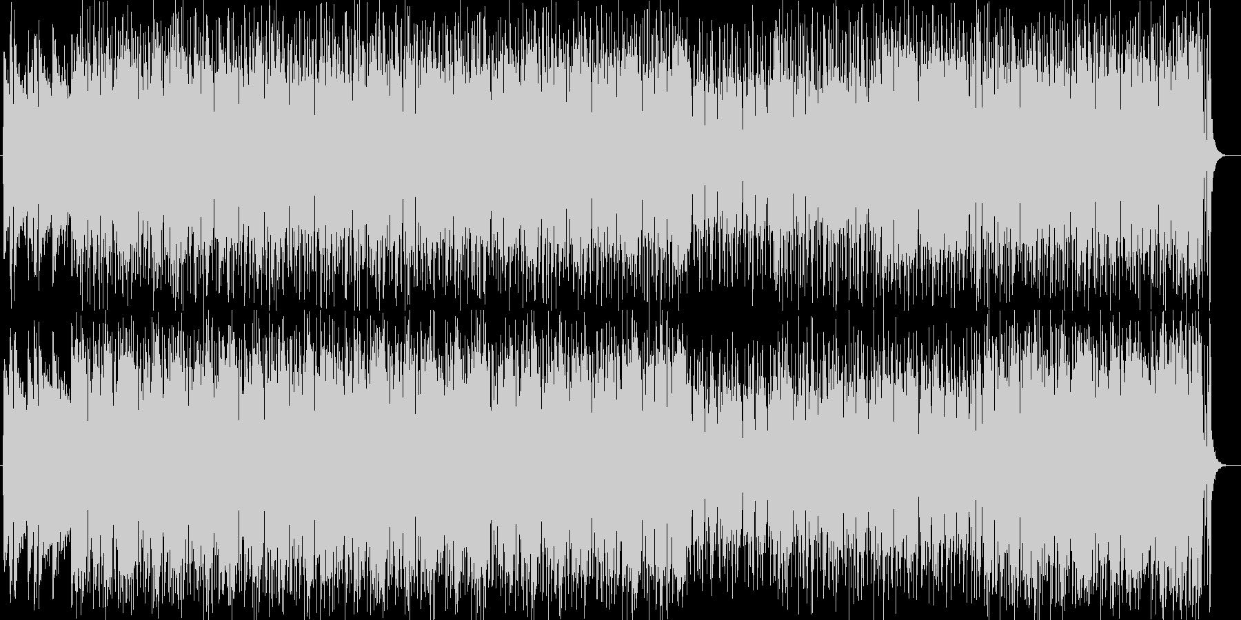美しいメロディと和音のポップスの未再生の波形
