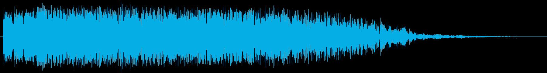 サイバージャンプの再生済みの波形