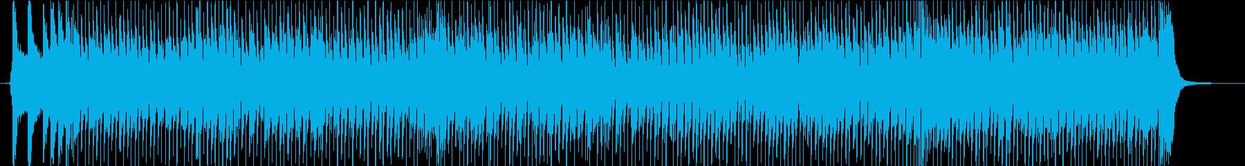 フィドルとマンドリンの軽快なカントリーの再生済みの波形