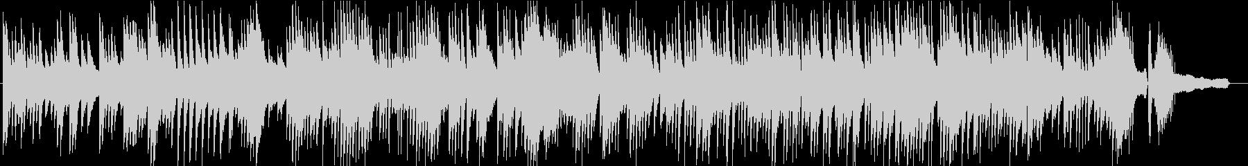 さりげなく使いやすい静かなピアノソBGMの未再生の波形