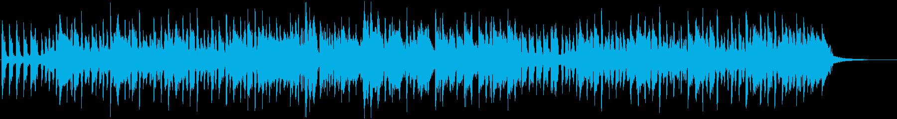 七五三をテーマにした楽曲の再生済みの波形
