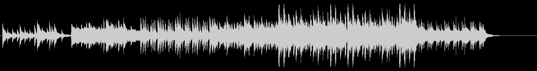 幻想的な7拍子のオーケストラの未再生の波形
