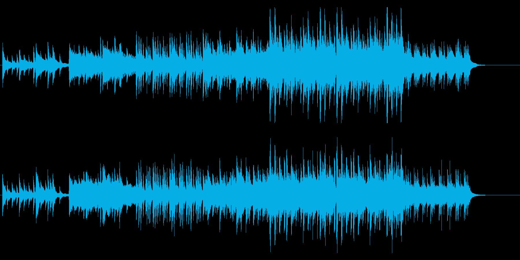 幻想的な7拍子のオーケストラの再生済みの波形
