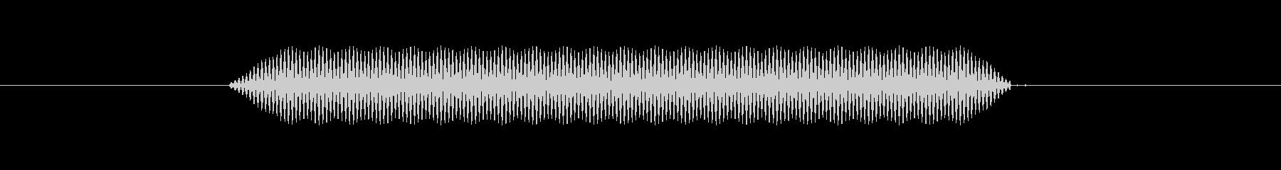 【汎用・セリフ音等】ピッ(低)の未再生の波形