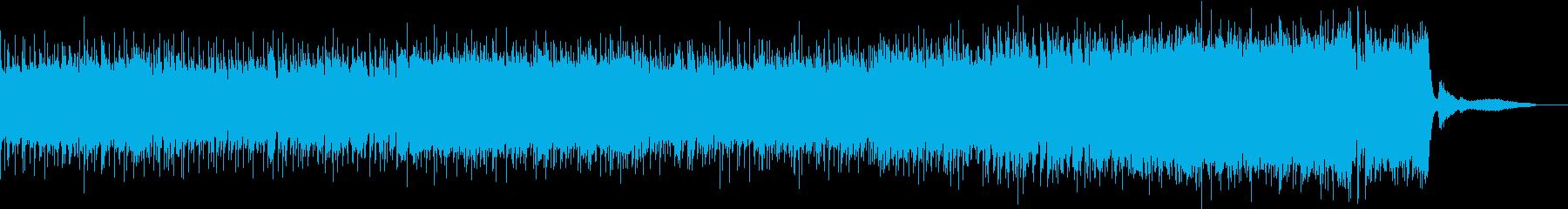 かっこいいバトル系シンフォニックロックの再生済みの波形