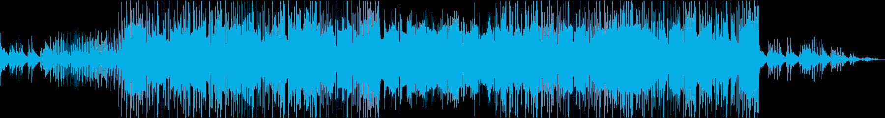 おしゃれな雰囲気にぴったりなHipHopの再生済みの波形