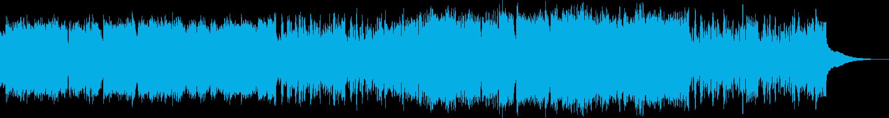 民族調アイリッシュ風アメイジンググレイスの再生済みの波形