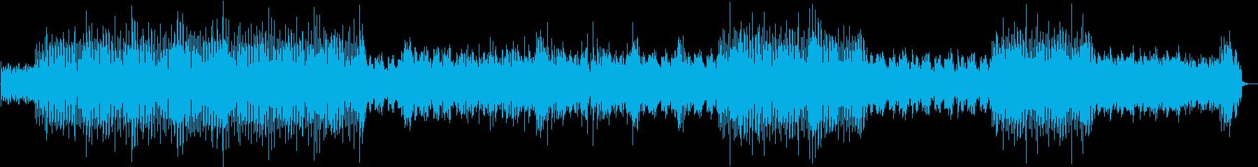 UPテンポでPopなユーロビート風EDMの再生済みの波形
