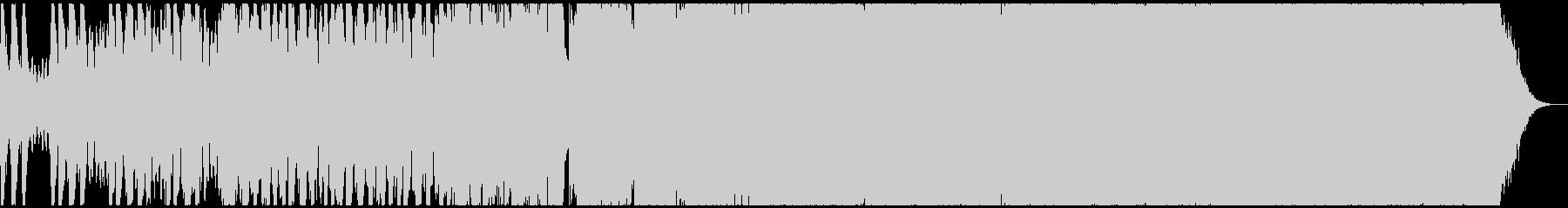 海外ブランドCM系の壮大なヒップホップの未再生の波形