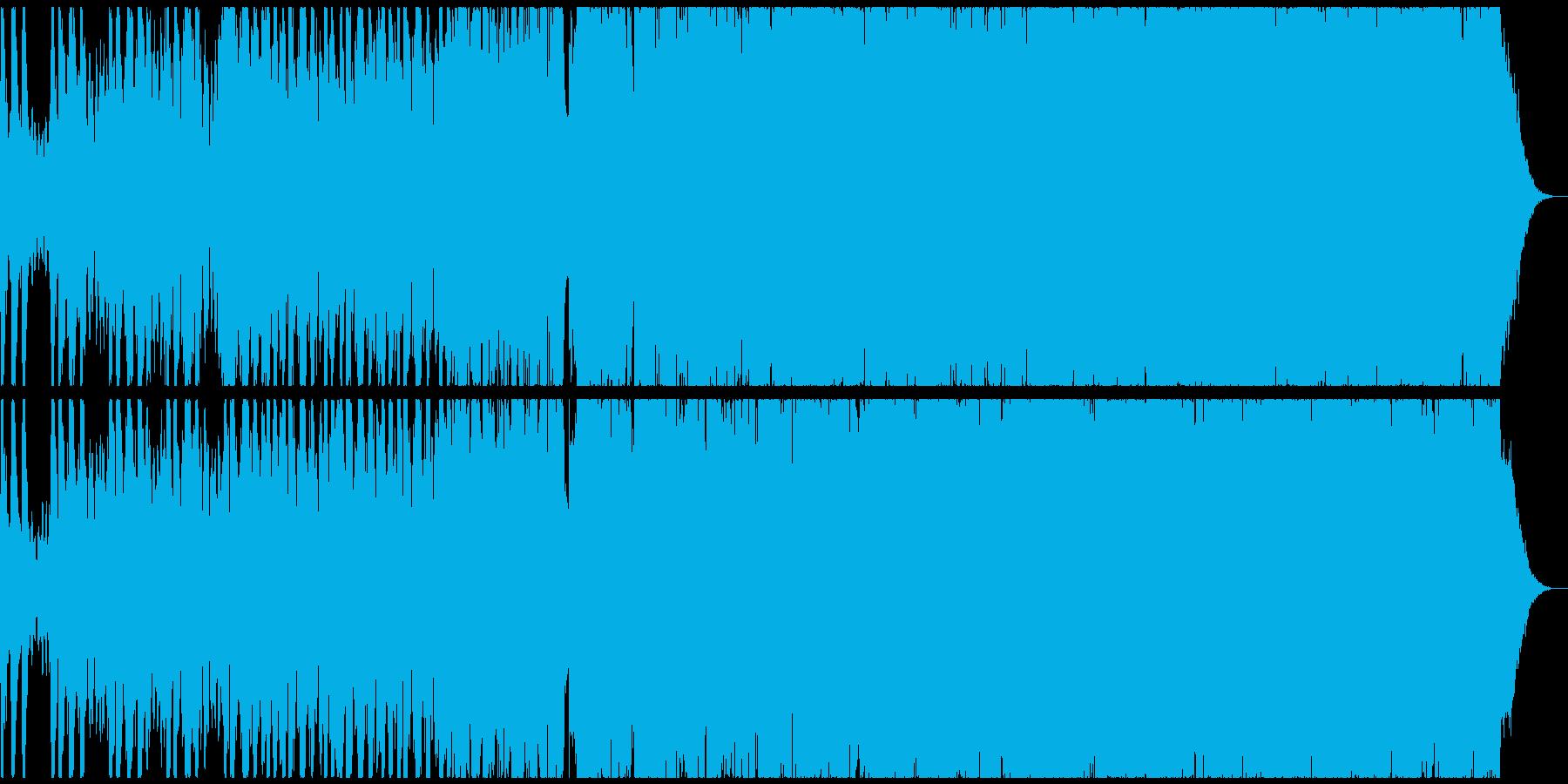 海外ブランドCM系の壮大なヒップホップの再生済みの波形