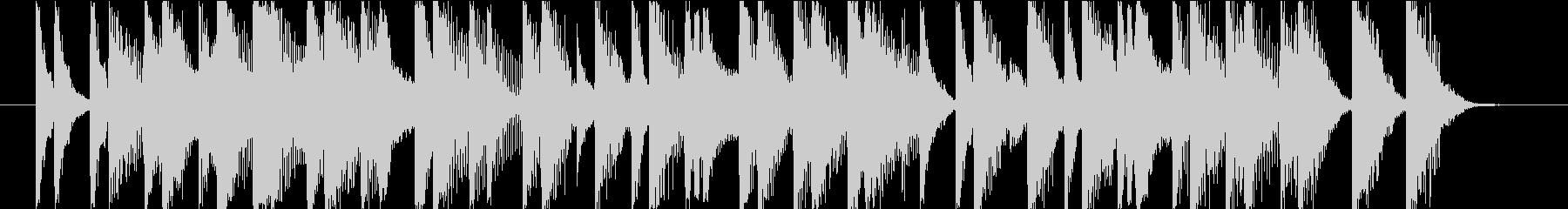 15秒CMの12 和風 お囃子 陽気の未再生の波形