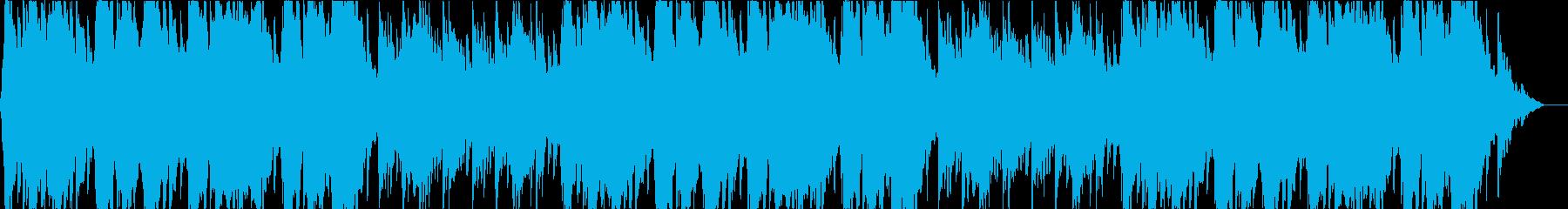 尺八による壮大な和風曲の再生済みの波形