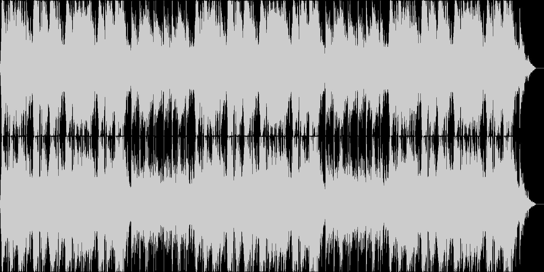 尺八による壮大な和風曲の未再生の波形