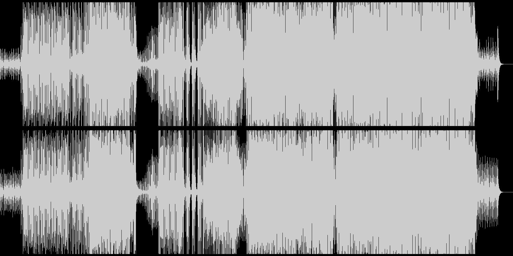 【生ギター】夏を感じるトロピカルハウスの未再生の波形