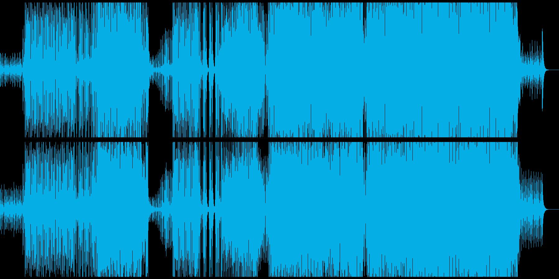 【生ギター】夏を感じるトロピカルハウスの再生済みの波形
