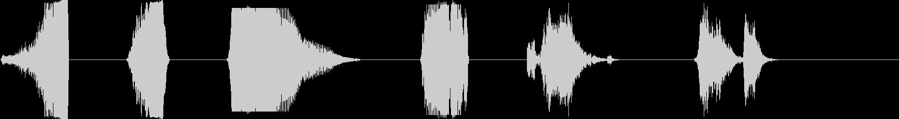 DJパワーサージX6の未再生の波形