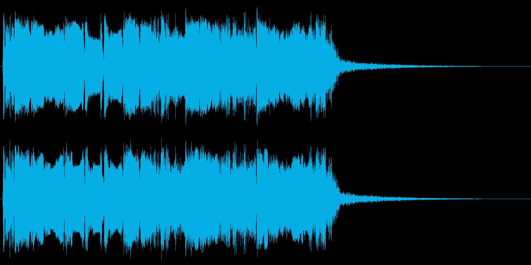 メタルなギターフレーズ メサブギサウンドの再生済みの波形