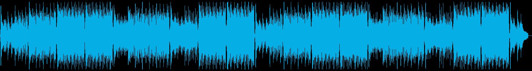 明るく前向きなトロピカルハウス:フルx2の再生済みの波形