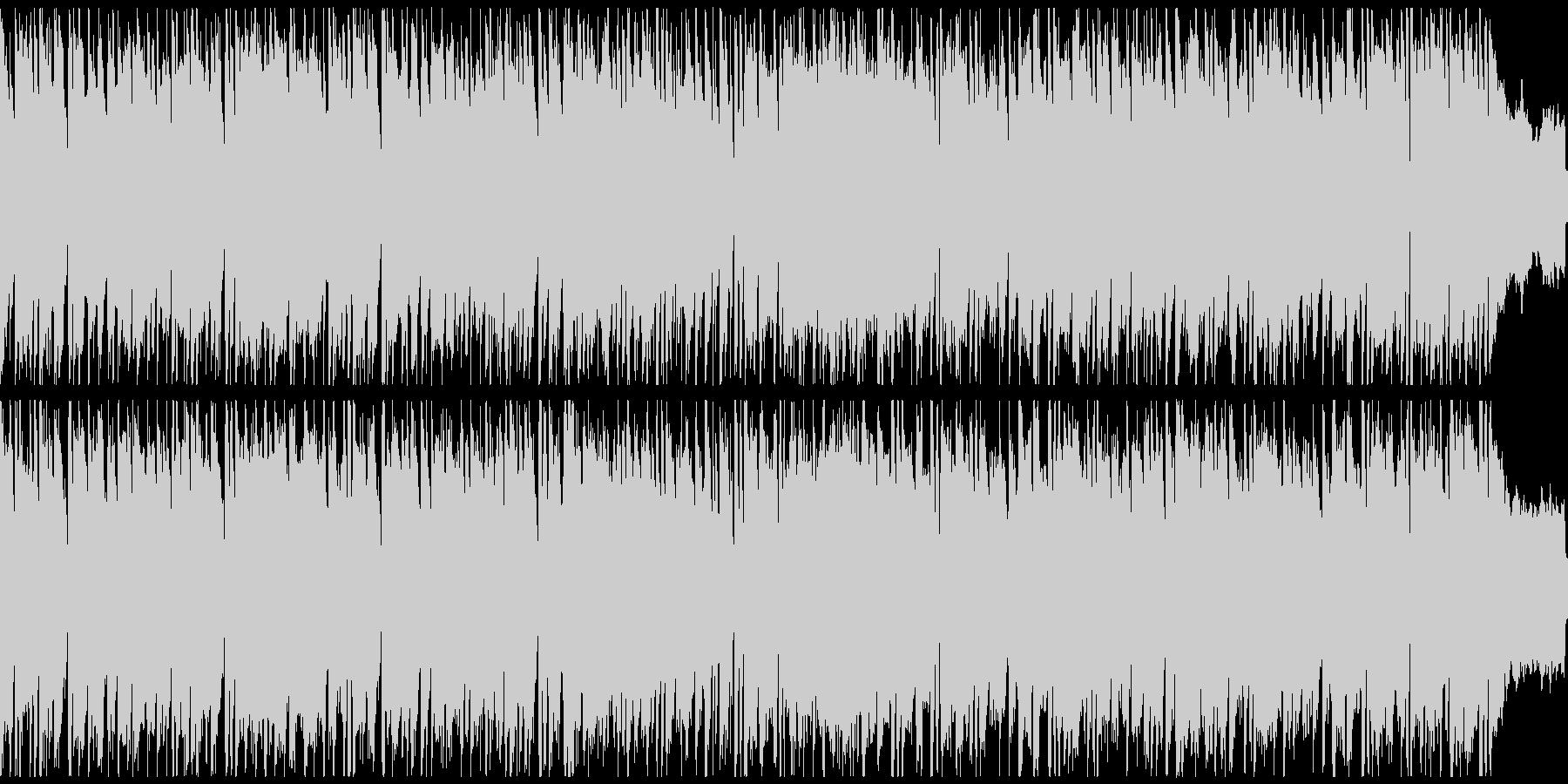 【かっこいい系】どんなに ピアノver.の未再生の波形