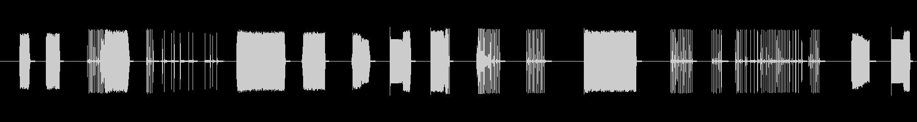 FX トーキングアーケード02の未再生の波形